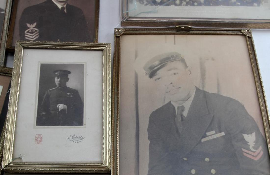 LOT OF US MILITARY SOLDIER PHOTOS NAVAL OLD GLORY - 4