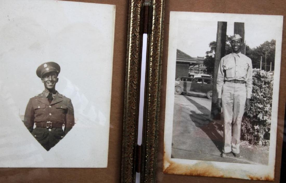 LOT OF US MILITARY SOLDIER PHOTOS NAVAL OLD GLORY - 6