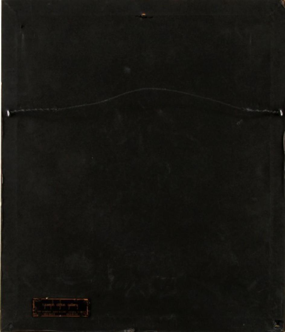 VINTAGE CROSS STITCH & INK EMBROIDERY LANDSCAPE - 4