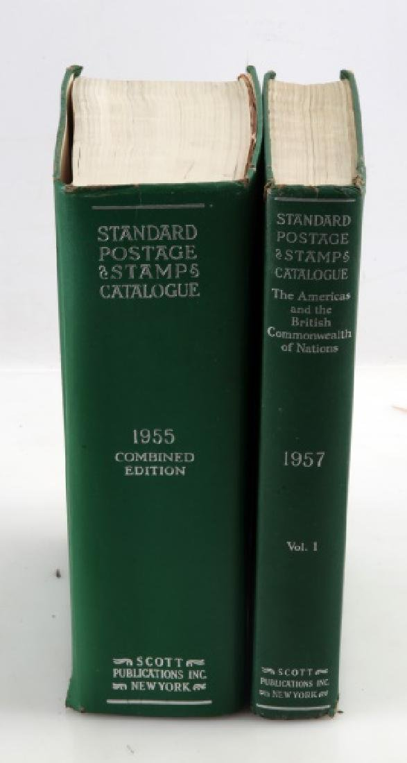STANDARD POSTAGE & STAMPS CATALOGUE 1955 & 1957