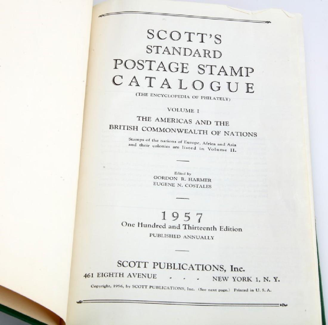 STANDARD POSTAGE & STAMPS CATALOGUE 1955 & 1957 - 3