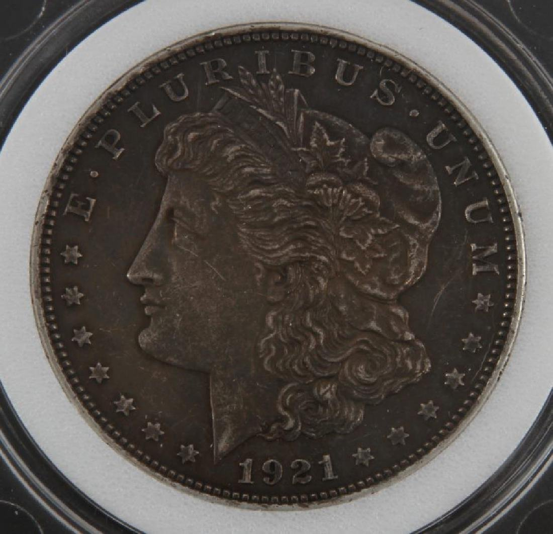 1921 MORGAN SILVER DOLLAR MINT STATE COIN