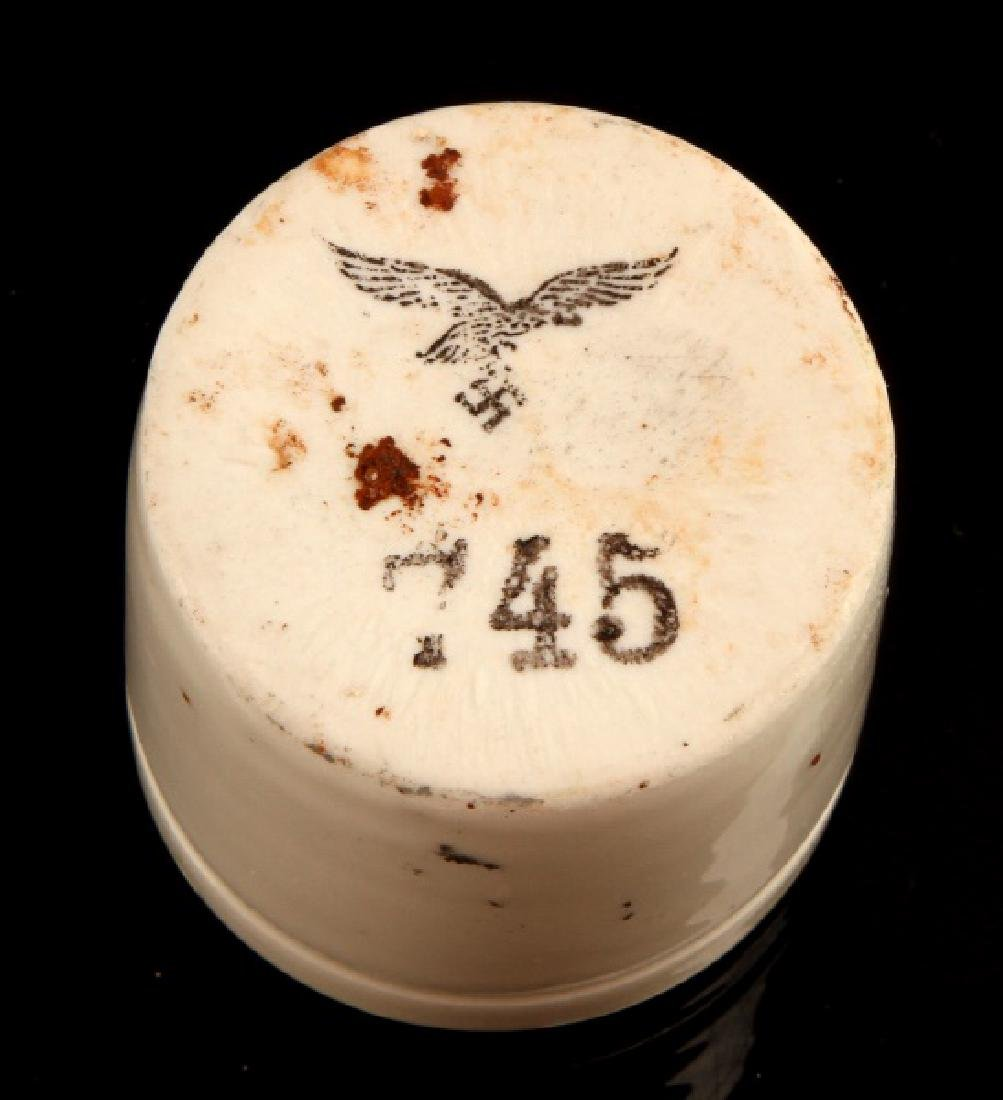 GERMAN WWII CUP FROM LUFTWAFFE MEDICAL HOSPITAL - 3