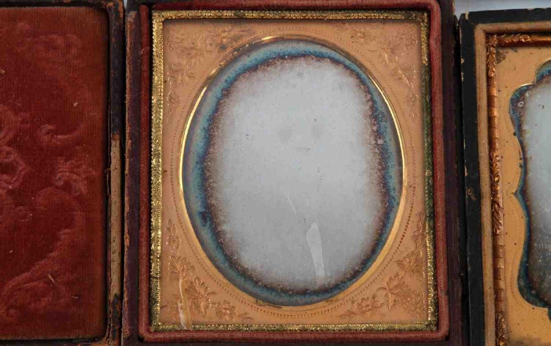 19TH CENTURY PHOTO DAGUERREOTYPES AND CASES - 6