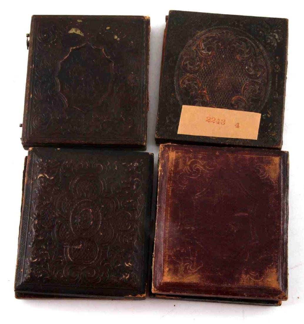 19TH CENTURY PHOTO DAGUERREOTYPES AND CASES - 8
