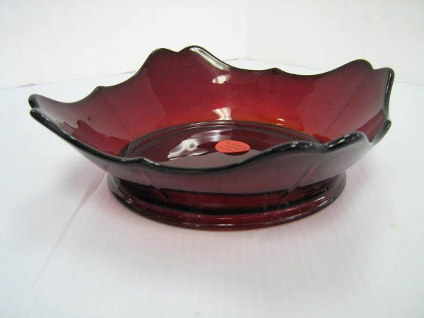 ANCHOR HOCKING RUBY RED DEPRESSION GLASS