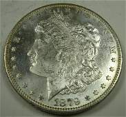 1879S US MORGAN SILVER DOLLAR PROOF LIKE MS62