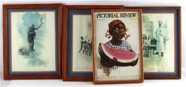 BLACK AMERICANA & CREAM OF WHEAT ADVERTISING LOT