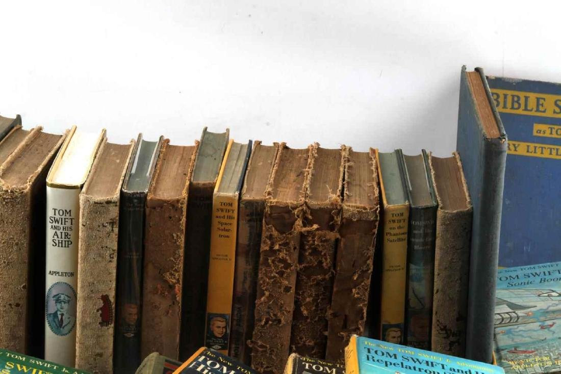 ANTIQUE AND VINTAGE CHILD BOOK LOT TOM SWIFT - 2