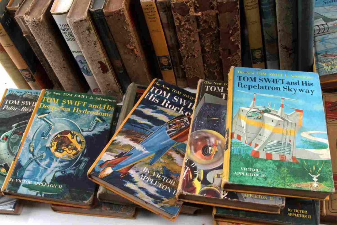 ANTIQUE AND VINTAGE CHILD BOOK LOT TOM SWIFT - 3