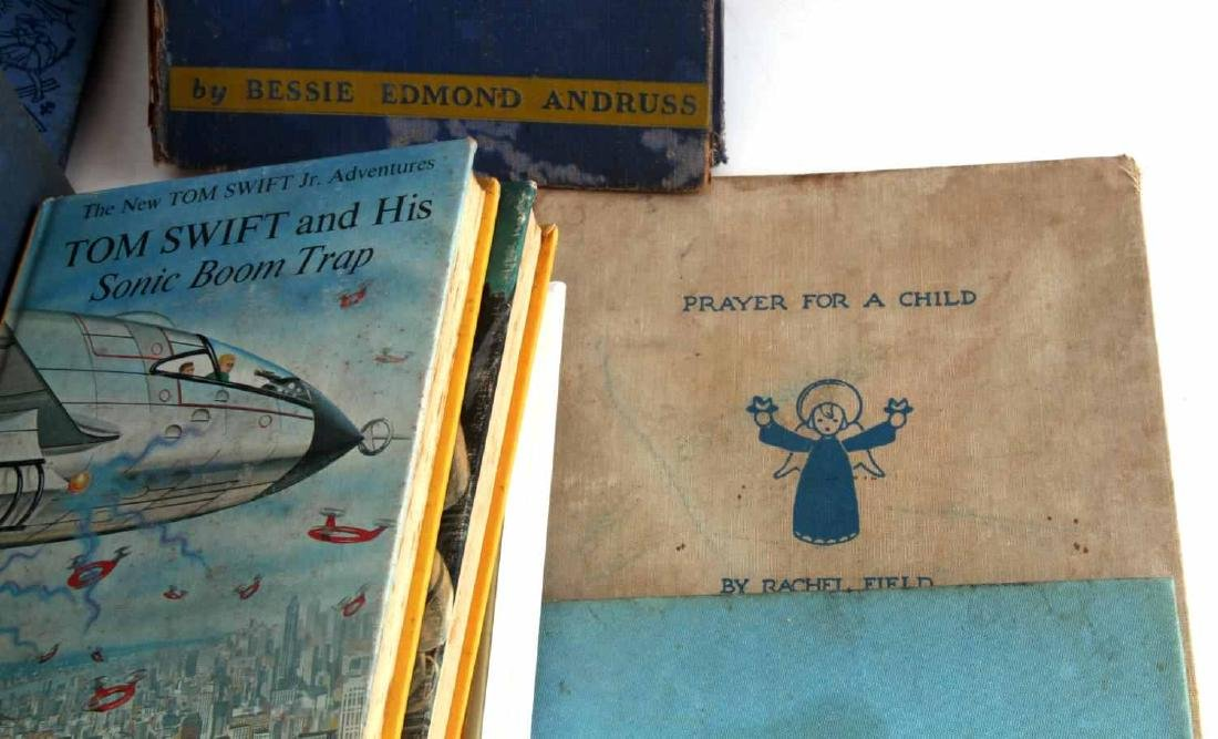 ANTIQUE AND VINTAGE CHILD BOOK LOT TOM SWIFT - 4