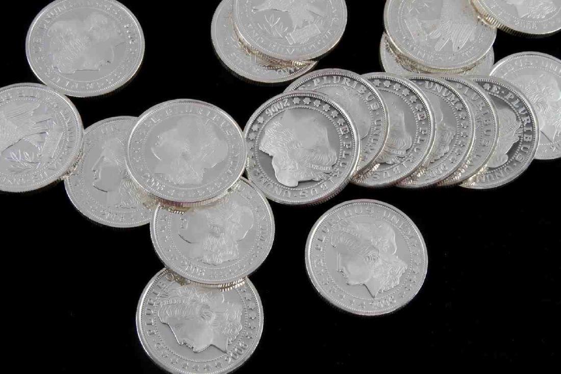 20 2006 SILVERTOWNE MINT.999 FINE SILVER COIN LOT - 2
