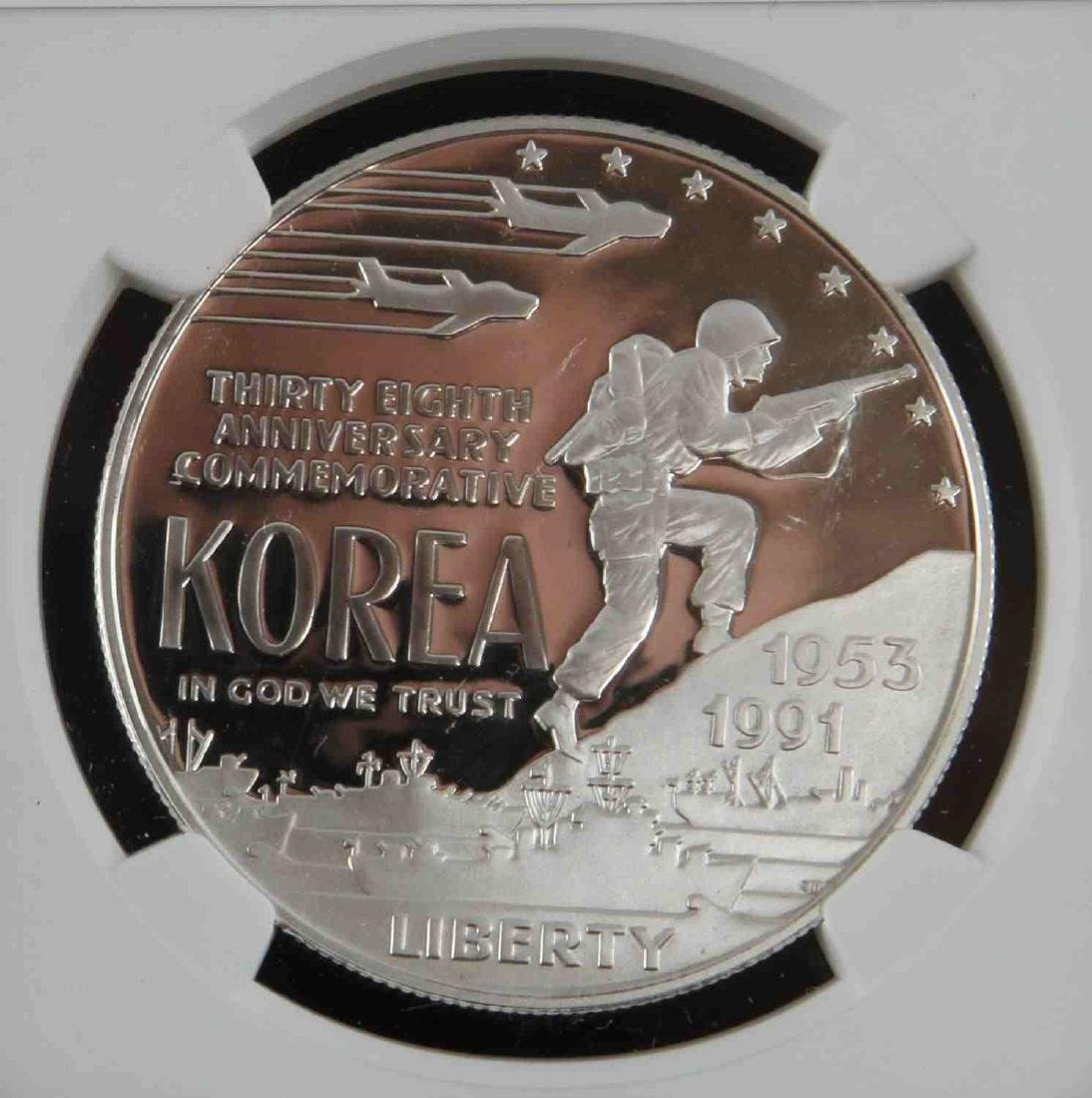 1996 MS & 19931993 PF SILVER EAGLES & KOREAN PROOF - 3