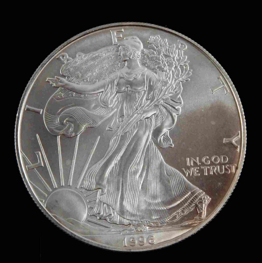 1996 MS & 19931993 PF SILVER EAGLES & KOREAN PROOF - 4