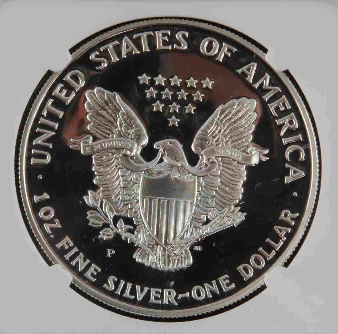 1996 MS & 19931993 PF SILVER EAGLES & KOREAN PROOF - 6