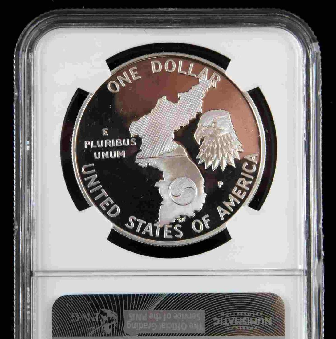 1996 MS & 19931993 PF SILVER EAGLES & KOREAN PROOF - 7