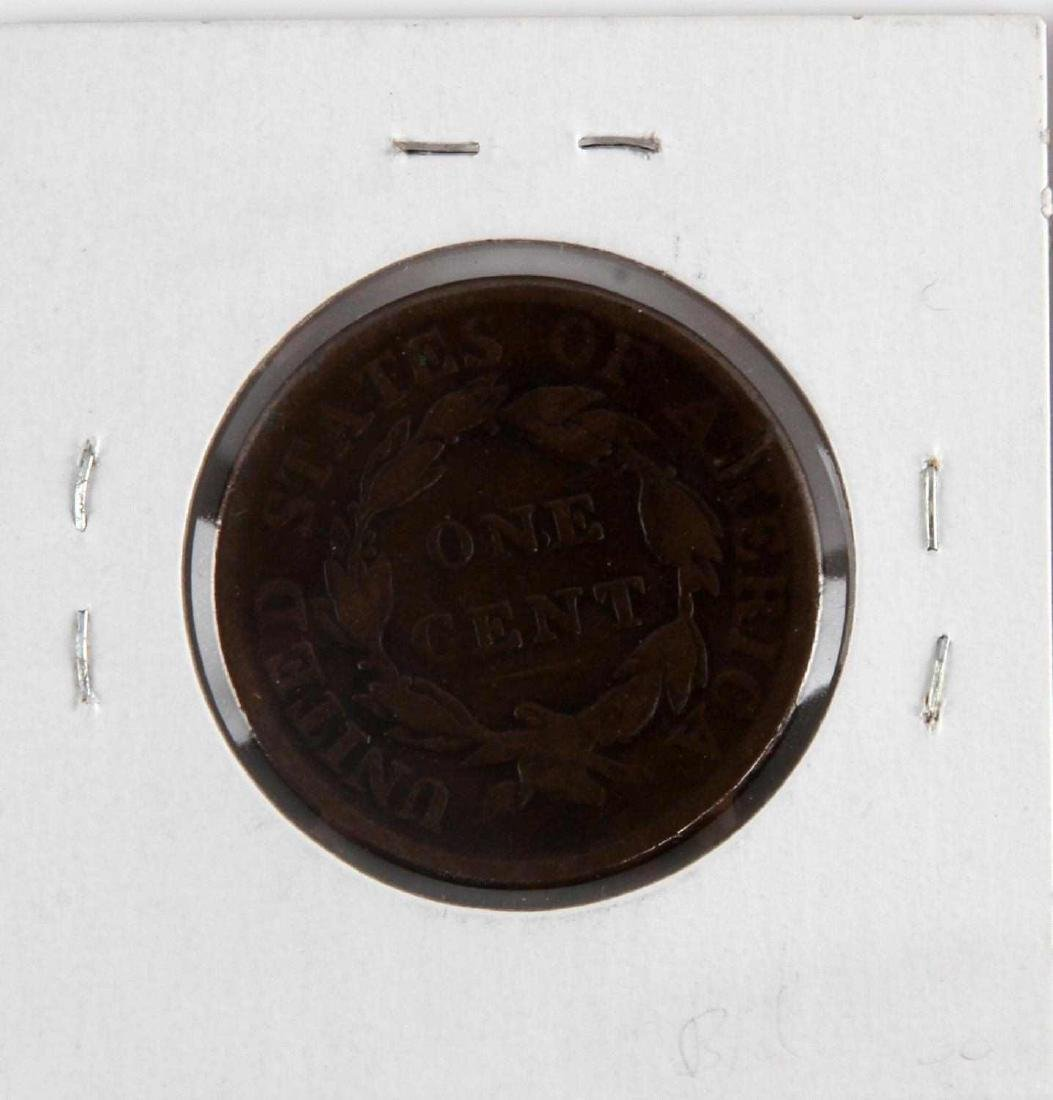 1816 TO 1853 US LARGE CENT COIN LOT OF 5 - 8