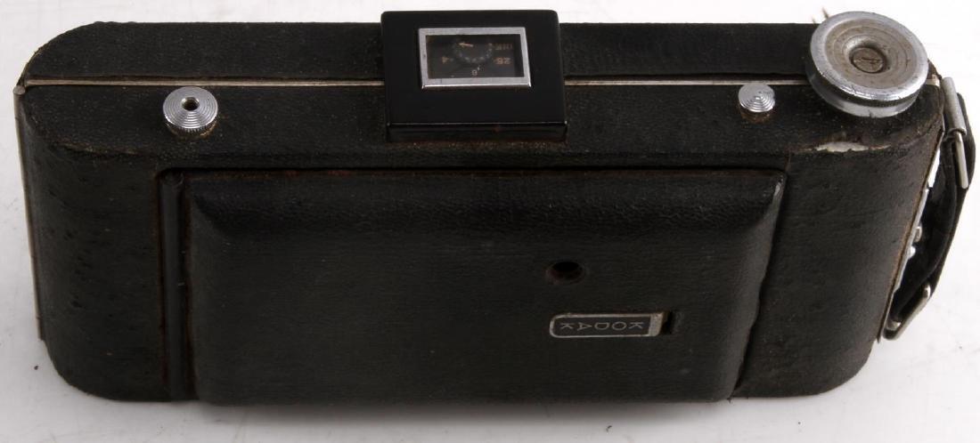 KODAK SIX-16 CAMERA IN BROWN LEATHER FIELD CASE - 6