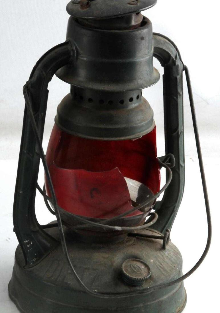 LOT OF 4 ANTIQUE LANTERNS DIETZ USCG ONE BROKEN - 2