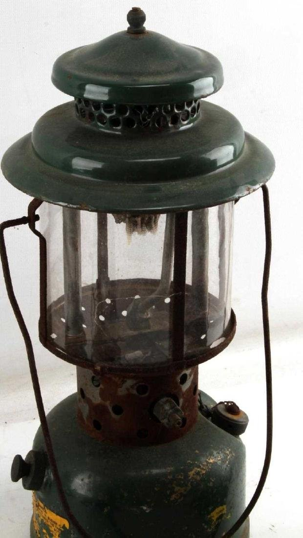 LOT OF 4 ANTIQUE LANTERNS DIETZ USCG ONE BROKEN - 4