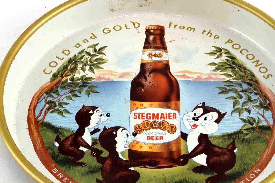 STEGMAIER GOLD MEDAL BEER SERVING TRAY 1959 - 2