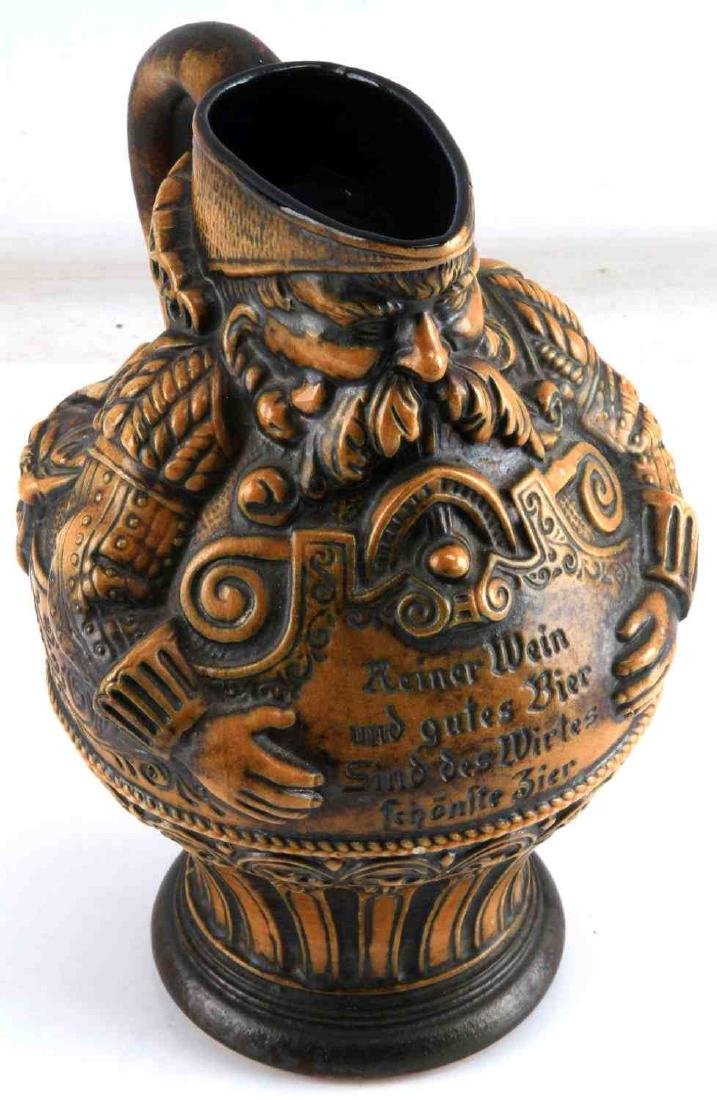 VINTAGE WEST GERMANY BEER STEIN PITCHER BY GERZ