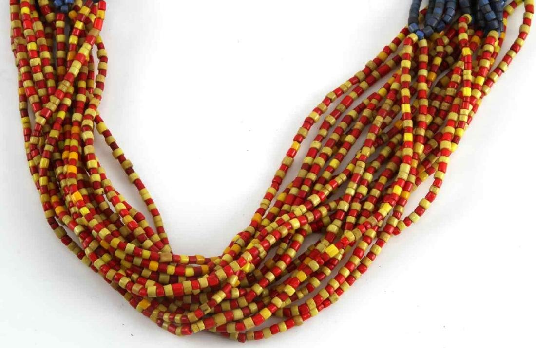19TH CENTURY MOJAVE MULTI STRAND COLOR TRADE BEADS - 3