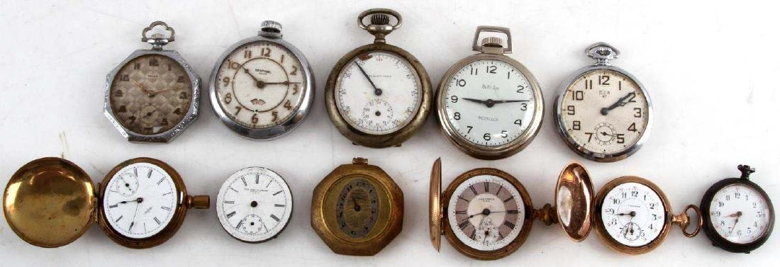 ANTIQUE AND VINTAGE MEN AND WOMEN POCKET WATCH LOT
