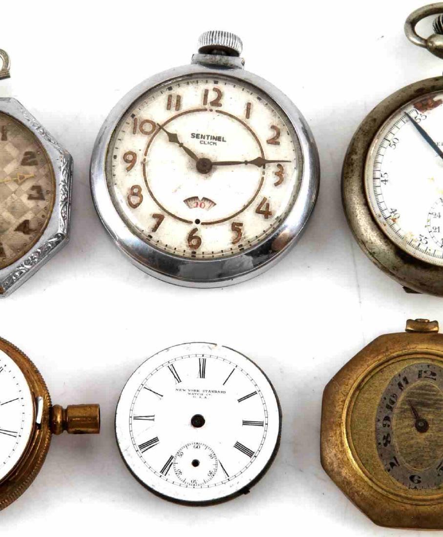 ANTIQUE AND VINTAGE MEN AND WOMEN POCKET WATCH LOT - 3