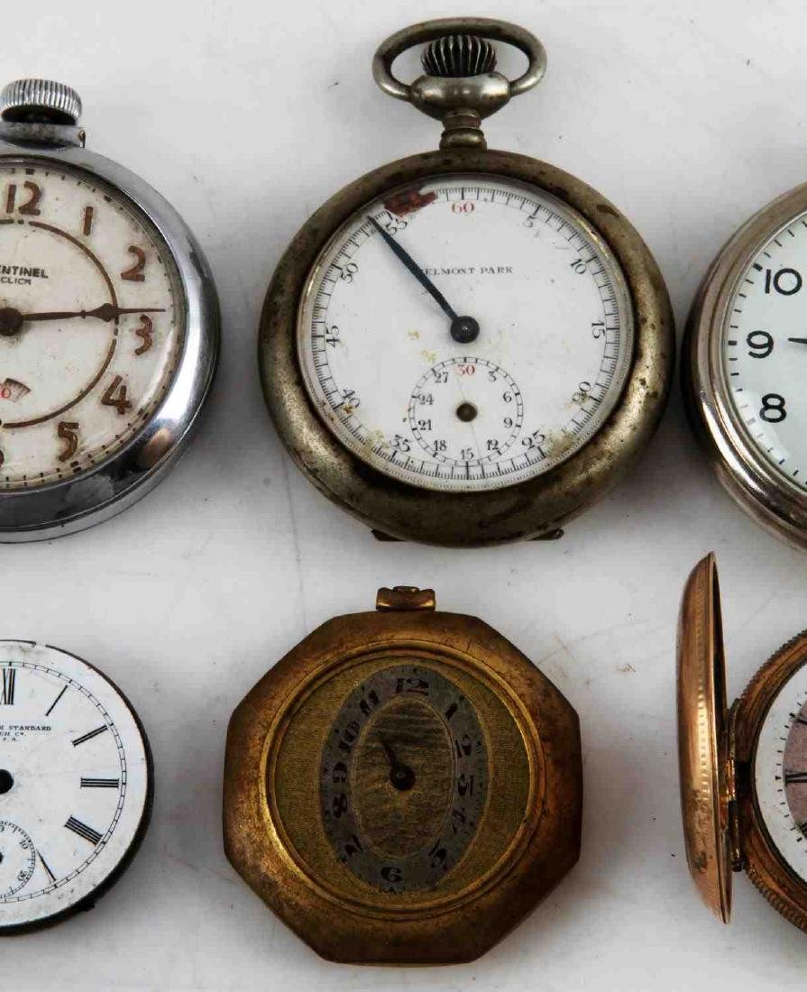 ANTIQUE AND VINTAGE MEN AND WOMEN POCKET WATCH LOT - 4