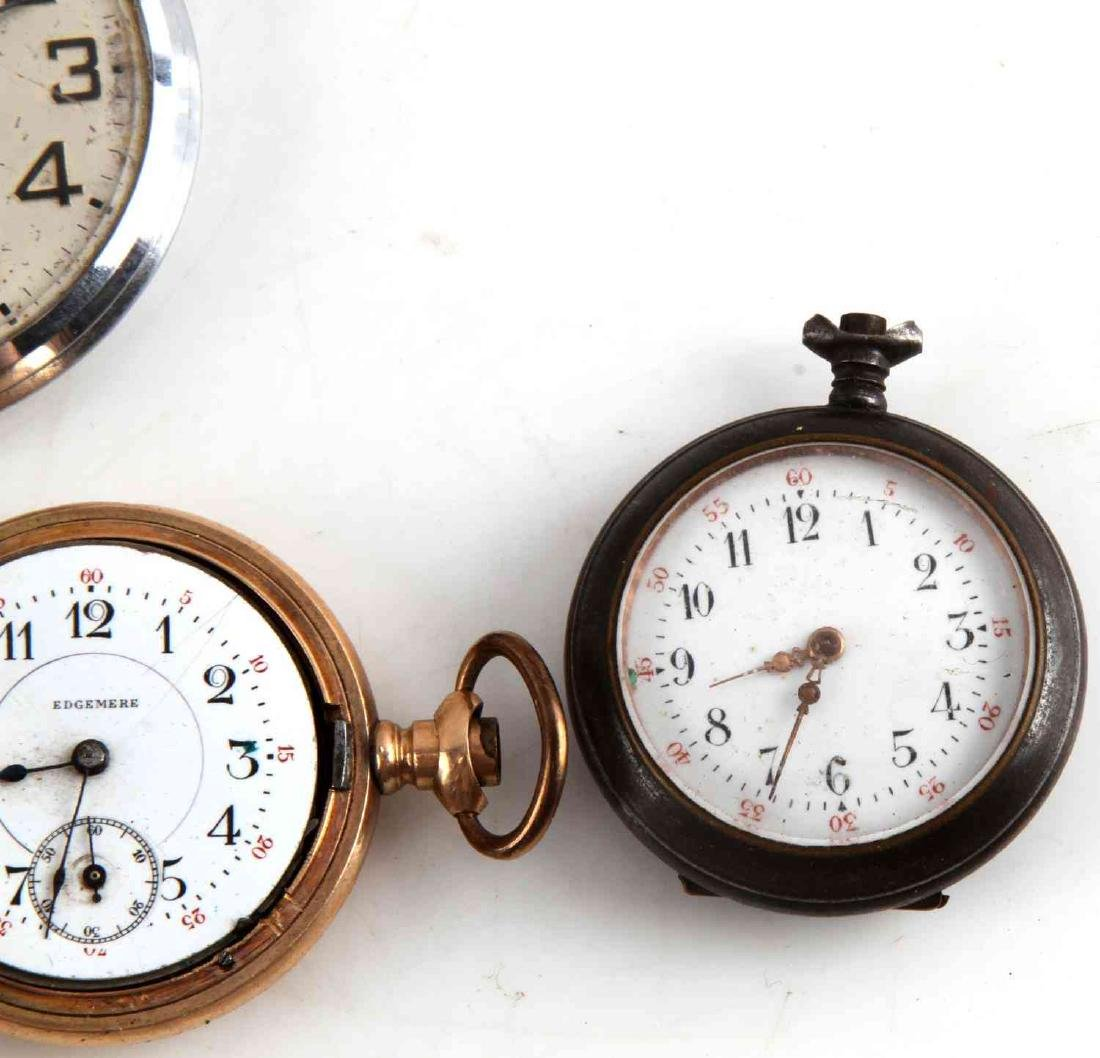 ANTIQUE AND VINTAGE MEN AND WOMEN POCKET WATCH LOT - 7
