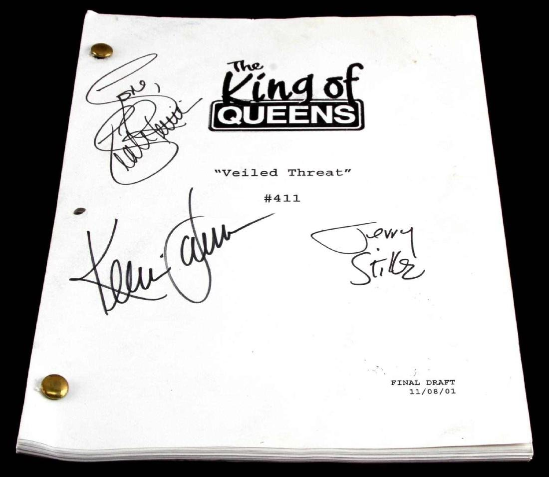 KING OF QUEENS SCRIPT JAMES REMINI & STILLER SIGN