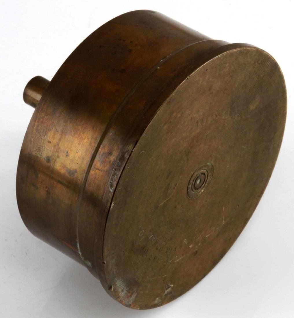 105 MM M14 TYPE 1 SHELL TRENCH ART ASH TRAY 1944 - 3