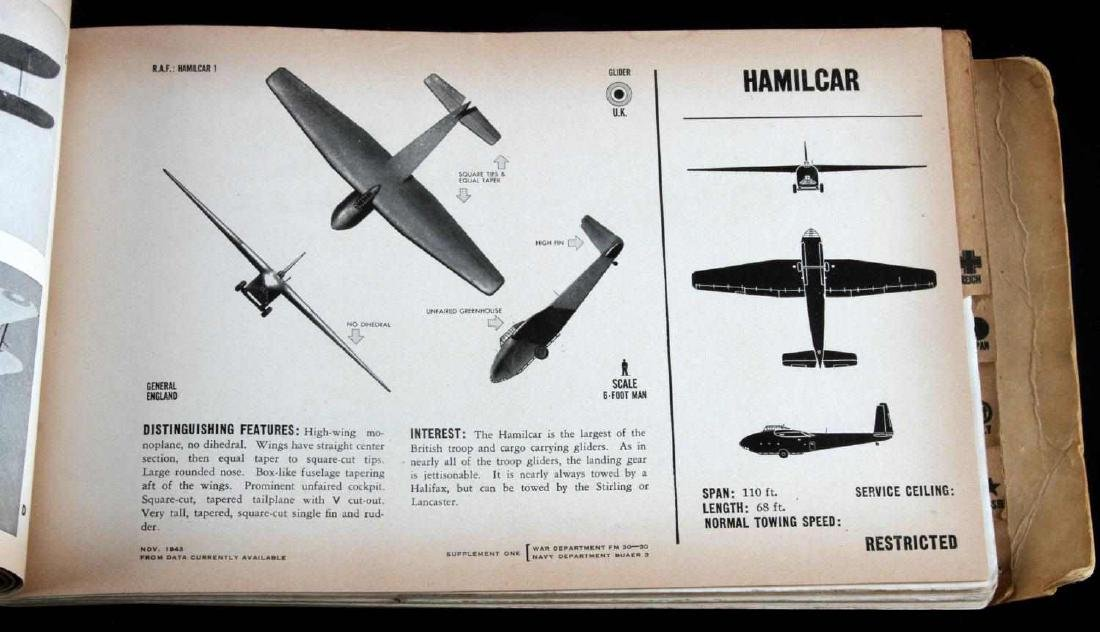 US WAR DEPARTMENT RECOGNITION PICTORIAL MANUAL - 5