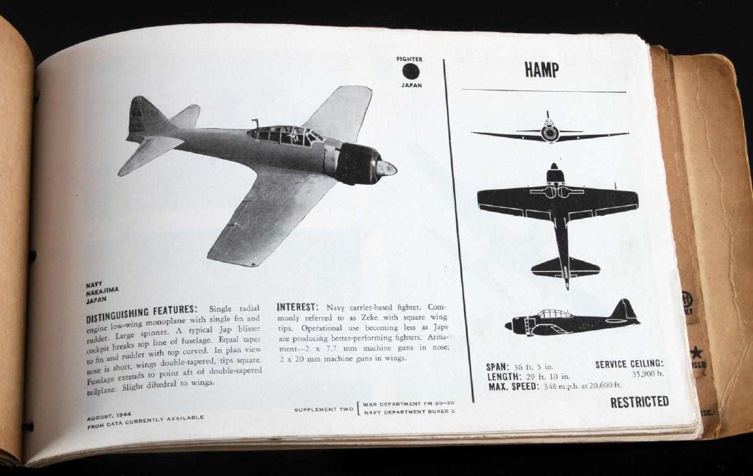 US WAR DEPARTMENT RECOGNITION PICTORIAL MANUAL - 6