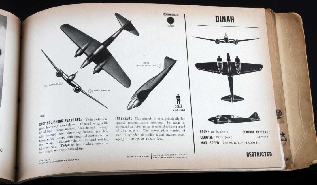 US WAR DEPARTMENT RECOGNITION PICTORIAL MANUAL - 7