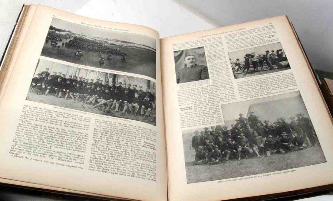 MILITARY BOOK LOT SPANISH AMERICAN WAR TO WWII - 3