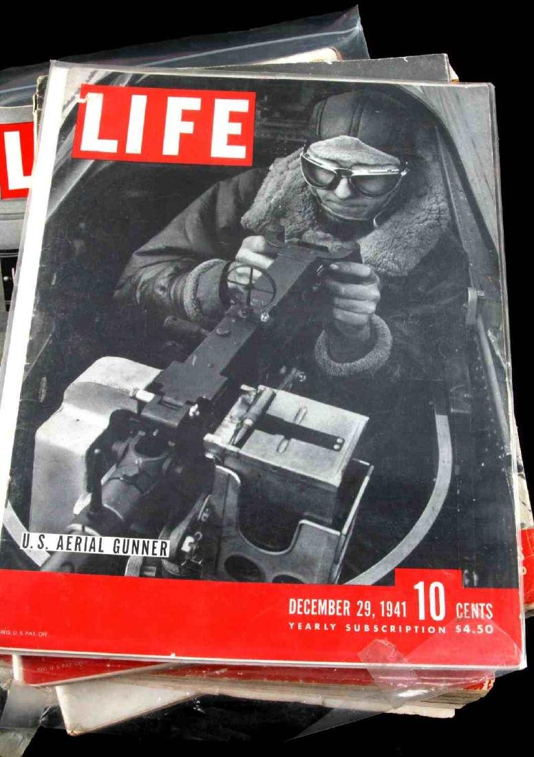 WWII ISSUE LIFE MAGAZINE COLLECTION OF TWELVE - 2