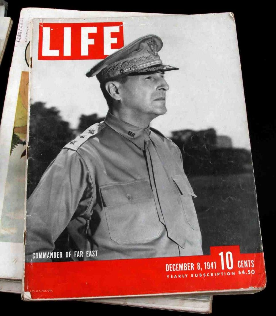 WWII ISSUE LIFE MAGAZINE COLLECTION OF TWELVE - 5