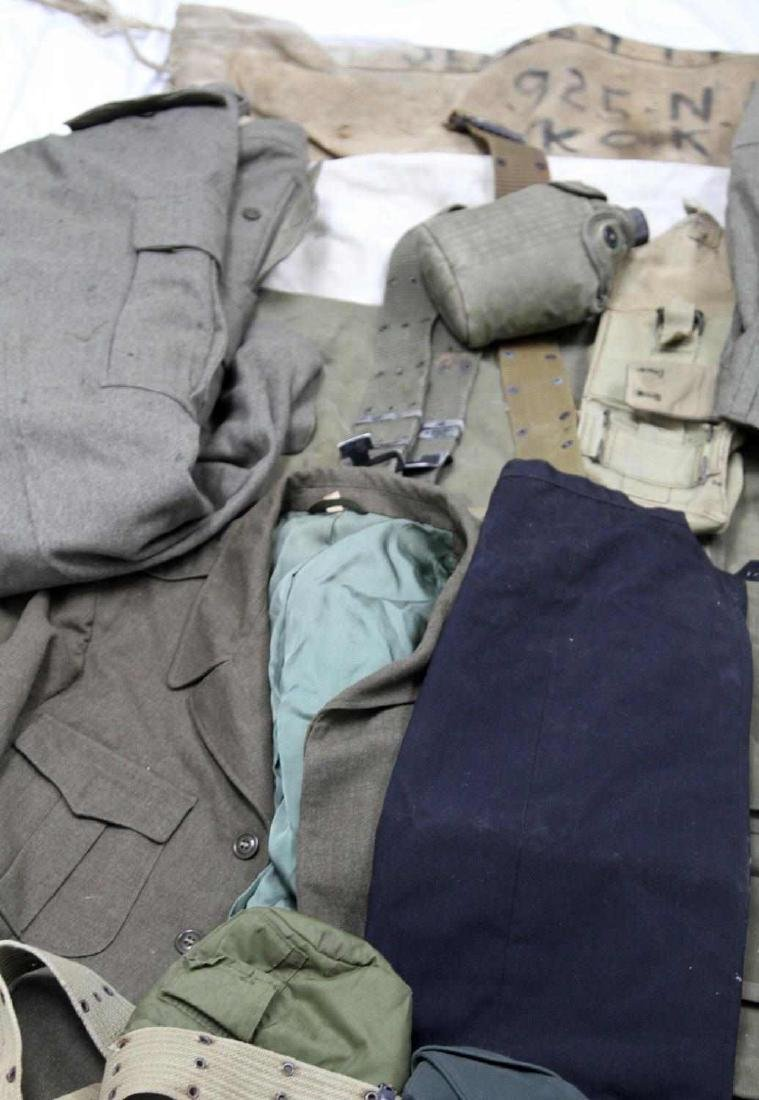 ASSORTED US MILITARY CLOTHING & GEAR LOT