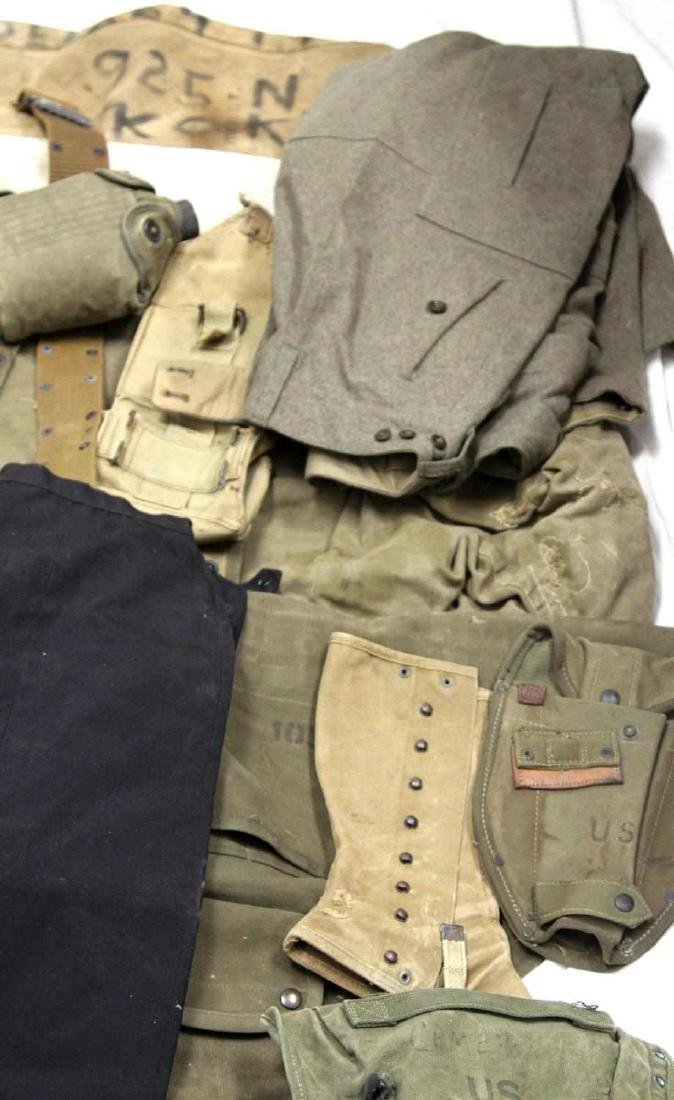 ASSORTED US MILITARY CLOTHING & GEAR LOT - 2