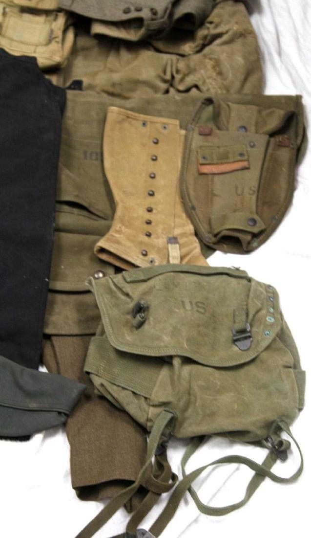 ASSORTED US MILITARY CLOTHING & GEAR LOT - 3