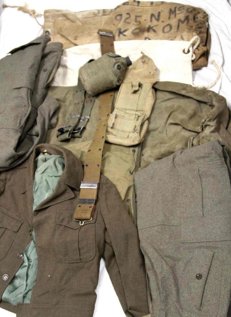 ASSORTED US MILITARY CLOTHING & GEAR LOT - 6