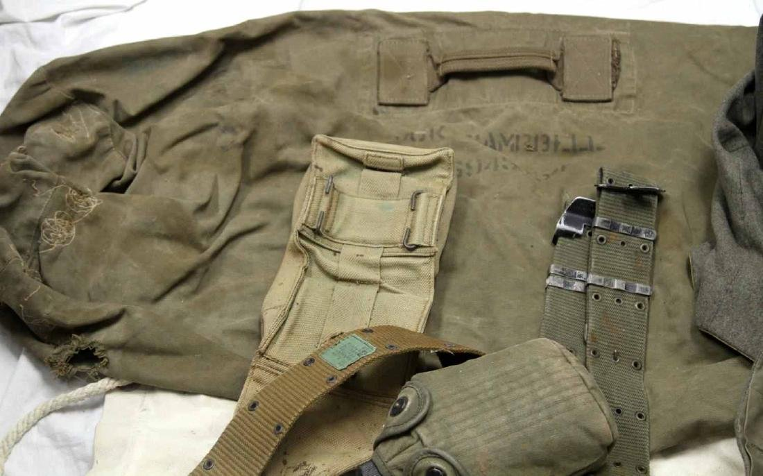 ASSORTED US MILITARY CLOTHING & GEAR LOT - 8