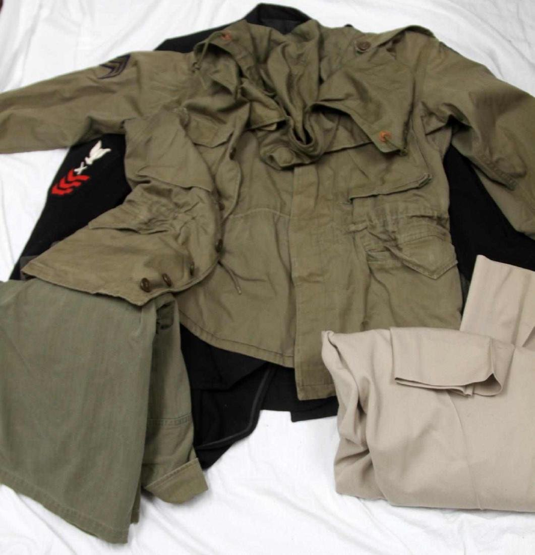 MIXED LOT OF US MILITARY MULTI CONFLICT UNIFORM - 3