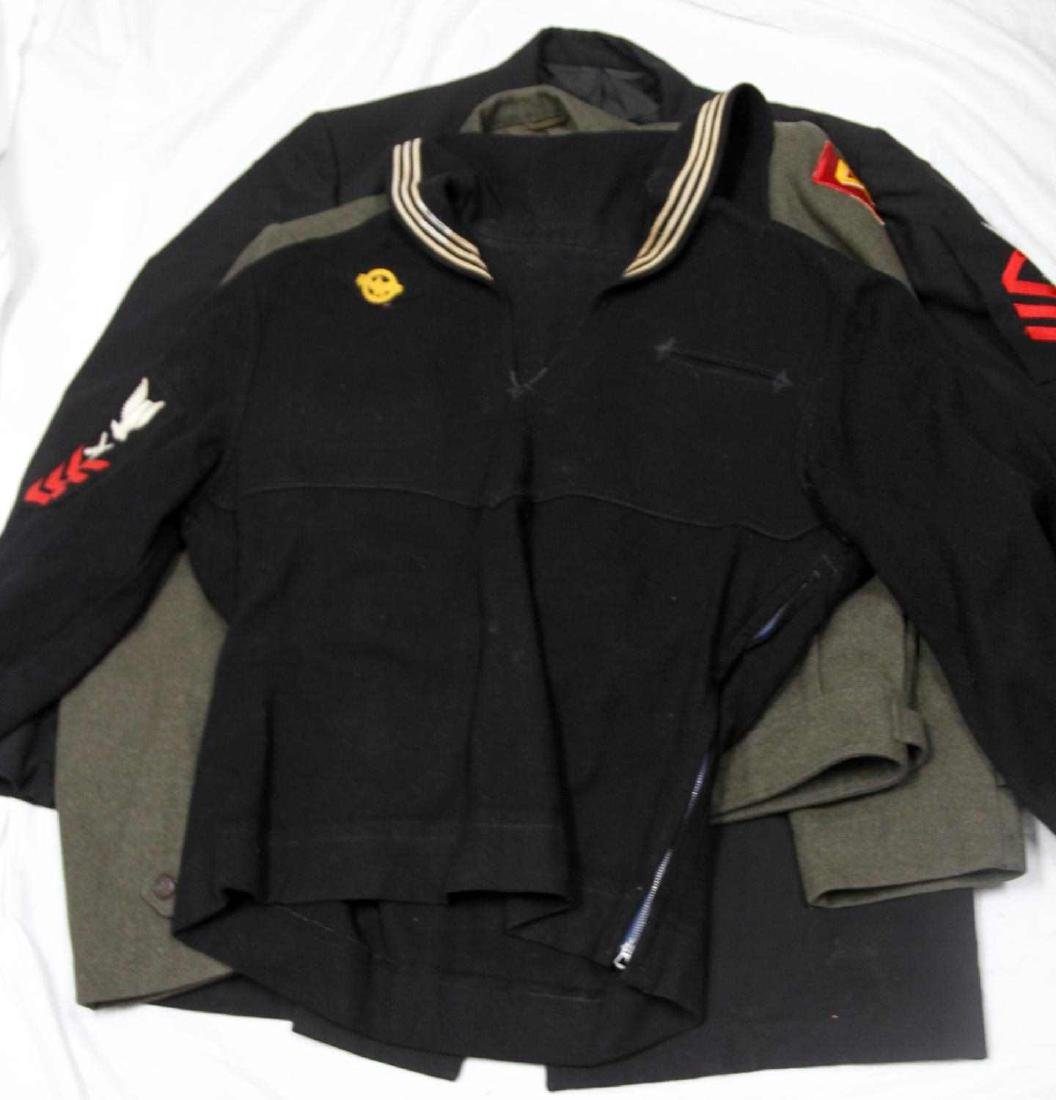 MIXED LOT OF US MILITARY MULTI CONFLICT UNIFORM - 7