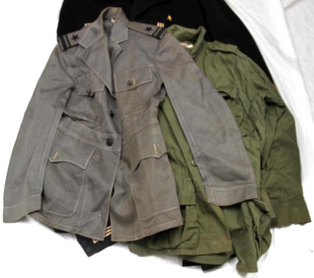 LOT OF WWII & LATER MILITARY UNIFORM & CLOTHING - 2