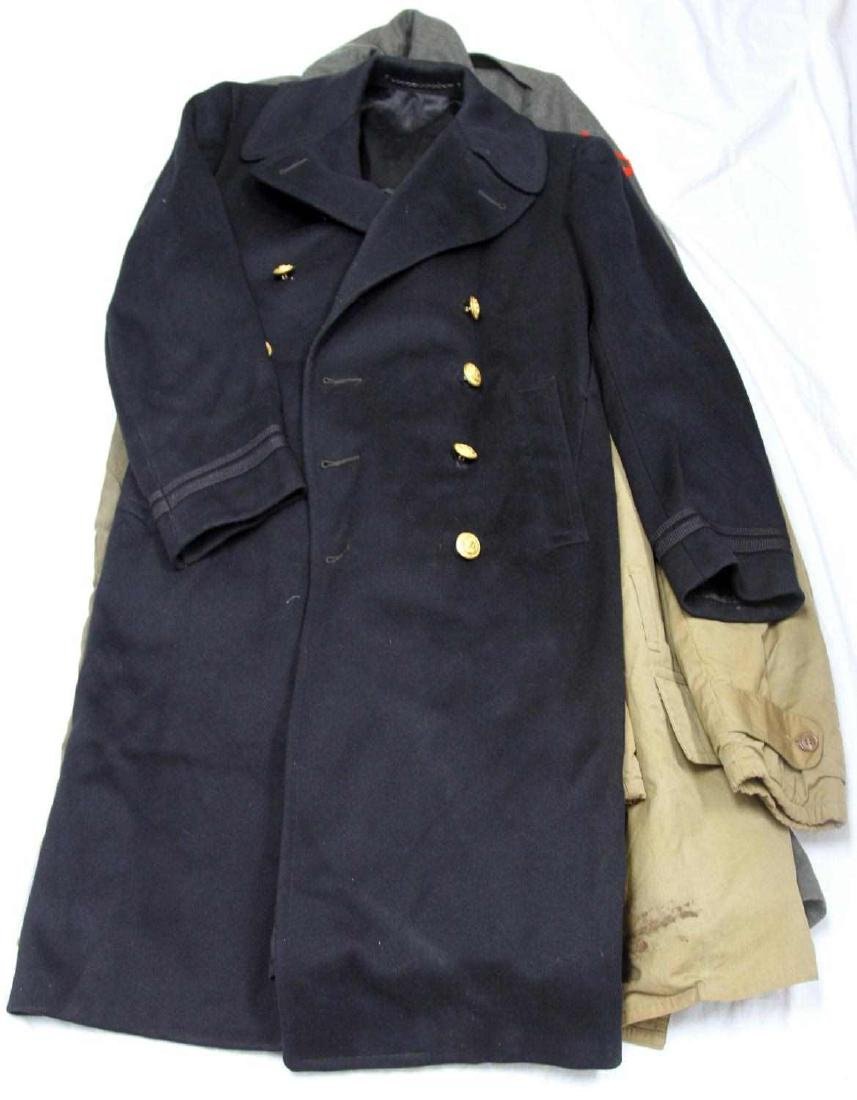 LOT OF WWII & LATER MILITARY UNIFORM & CLOTHING - 4
