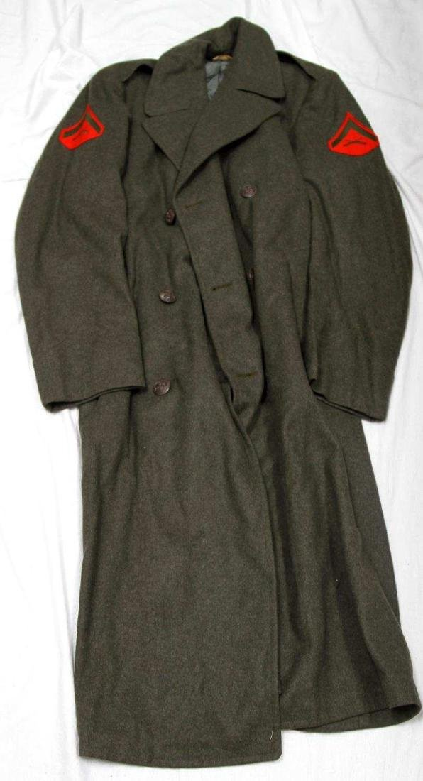 LOT OF WWII & LATER MILITARY UNIFORM & CLOTHING - 6