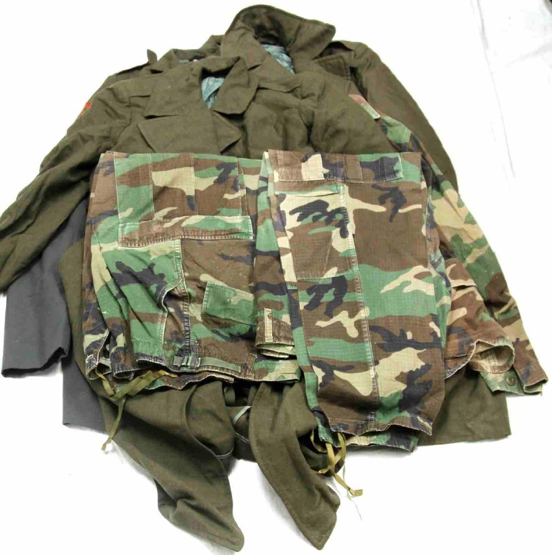 US MILITARY MULTI TIME PERIOD & BRANCH UNIFORM LOT